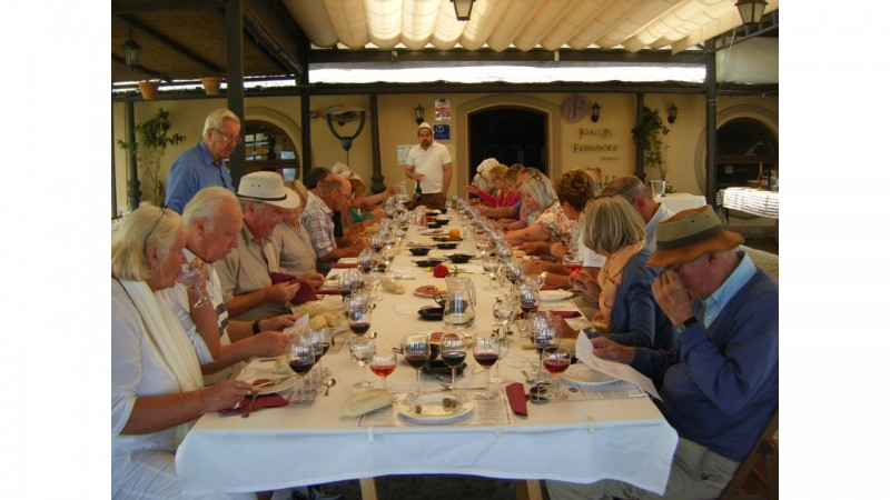 A tasting and Lunch at Bodega Joachin Fernandez